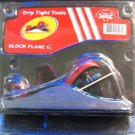 "New Grip Tight Tools 6-1/2"" Block Plane #J1802"