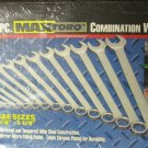New MIT 14-Pc. MaxTorq Combination SAE Wrench Set #1937