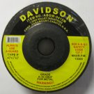 "New 5 Pc Davidson 4-1/2"" x 1/4"" x 7/8"" Cut-Off Wheels Type P #ABGW-0412M"