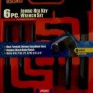 New MIT 6-Pc. SAE Jumbo Hex Key Wrench Set #2535
