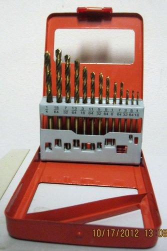 New Grip Tight Tools 13-pc DIY Classic HSS Drill Bits #H1294