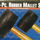 New MIT 3 pc. Rubber Mallet Set