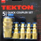 "New MIT 5 Pc. Quick Coupler Set  1/4""NPT #4720"