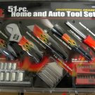 New MIT Prof. Grade 51-Pc. Home & Auto Tool Kit #18765