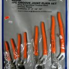 New Power Pro Craft 4-Pc. Groove Joint Plier Set