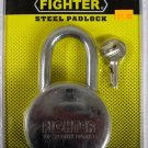 "New Fighter 3-1/8"" Steel Padlock"