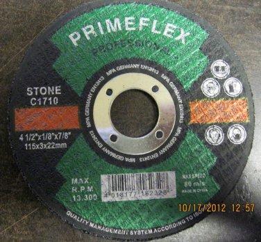 "New Primeflex Prof Cutting Disc for Stone 4-1/2""x1/8""x7/8"" #C1710"