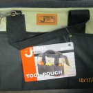 New Jtech Tool Pouch with Zipper and Strap 6 Handy Outside Pockets #BA-L2