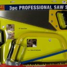 New Omaha Industrial Tools 3-Pc. Professional Saw Set
