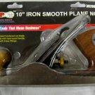 "New Grip Tight 10"" Iron Smooth Plane # 00992"