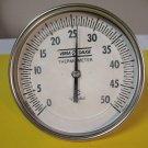 Thermometer stainless 5 inch 0-50 C