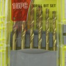 "New Iron Bridge 15 Pc. Various Drill Bits Set 1/16"" - 11/32"""