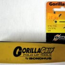 New Gorilla Grip 5-Pc. SAE Hex Key Wrenches 12585