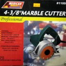 "New A.T.E. 4-3/8"" Professional Marble Cutter # 11008"