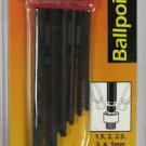 New Bondhus 6-Pc. MM Ballpoint Tip Hex Key Wrenches # 10946
