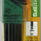 New Bondhus 8-Pc. Ballstar Tip Hex Key Wrenches # 11332