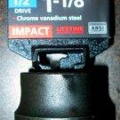 "New MIT/Tekton 1/2"" Dr. x 1-1/8"" SAE Shallow Impact Socket # 47761"