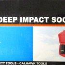 "New Cal-Hawk 8-Pc. 3/4"" Dr. Deep Impact Socket Set SAE # BISD086"