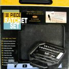 New 130-Pc. Ratchet, Sockets & Bits Set # 36424