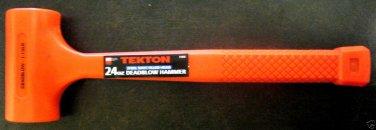 New MIT/Tekton 24 oz Steel Shot Filled Head Dead Blow Hammer # 3183