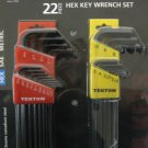 MIT 22 Pc Hex Key Wrench Set # 25221