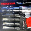 "New MIT/Tekton 7-Pc. 190mm Air Hammer Set 1/4"" NPT # 4190"