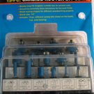 New Cal-Hawk 15-Piece Carbide Router Bit Set # CDBR15P