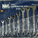 "New MIT 11-Pc. SAE Combination Wrench Set 3/8"" - 1"" # 1925"