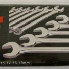New MIT 11-Pc.Combination Wrench Set MM # 1930