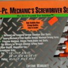 New MIT 8-Pc.Mechanic's Screwdriver Set # 2765