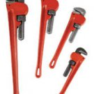 New A.T.E. 4-Pc Heavy Duty Pipe Wrench Set # 34030*