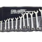 New Cal-Hawk 14 Pc MM Combination Wrench Set # BCW14M