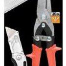 New Wiss 20 GA Long Cut Aviation Snip Combo Pack Quick Change Folding Utility Knife  # WMMKF-1