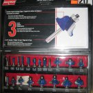 New MAXTECH 20 Pc 3 Flute Tranchants Router Bit Set  # 52630MX