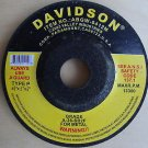 "New Davidson 4-1/2"" x 1/4"" x 7/8"" Metal Grinder Wheels 5 pack # ABGW-0421M"