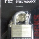 "New MIT/Tekton 1-1/4"" Laminated Steel Padlocks  # 7745"