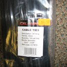 "New Cal-Hawk 14"" 100 Pc Bag Long Black Cable Ties # CCTB14"