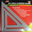 New American Tool Exchange 2 Pc Angle Aluminum Square # 11411