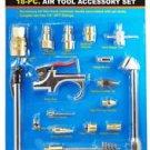 New Cal-Hawk 18 Pc Air Tool Accessory Kit   # CAHAK18