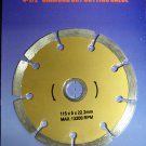 "New 4-1/2"" Segmented Diamond Dry Cutting Blade  # 50686*"