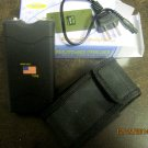 New 800 Type Self-protection Device Carrying Case/ Belt Loop/ Rechargeable Black