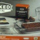 NEW 4 Piece Baking Set Heavy Duty Glass Bakeware set Mixing bowls baking dish