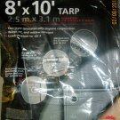 New Michigan Industrial Tools 8' X 10' HD Silver Tarp #6295