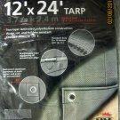 Tekton by MIT 12' X 24' HD Silver Tarp #6340