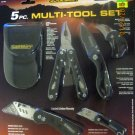 New Guidesman 5-Pc. Multi -Tool Set