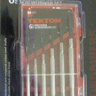 New MIT Tekton 6-Pc. Precision Screwdriver Set #2985