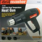 New Drillmaster 120V 1500 Watt Dual Temperature Heat Gun #96289