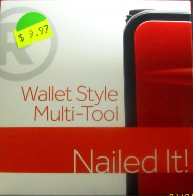 New RoHs Wallet Style Multi Tool #6301321