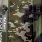 New Revolution Camo 5th Generation iPod Touch Snap Case & Earbuds