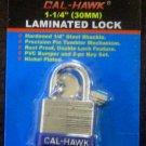 "New Cal-Hawk 1-1/4"" (30mm) Laminated Lock #CLO30L"